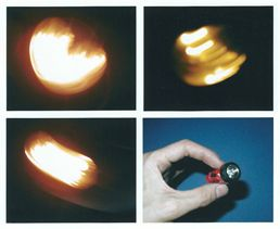 flashlights as used on the model
